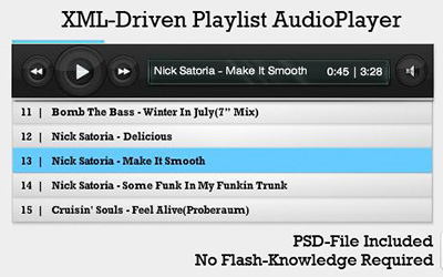 Flash Audio Player